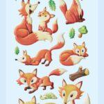 Softysticker Füchse