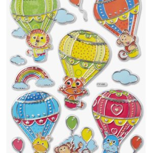 Sticker Ballonfahrt